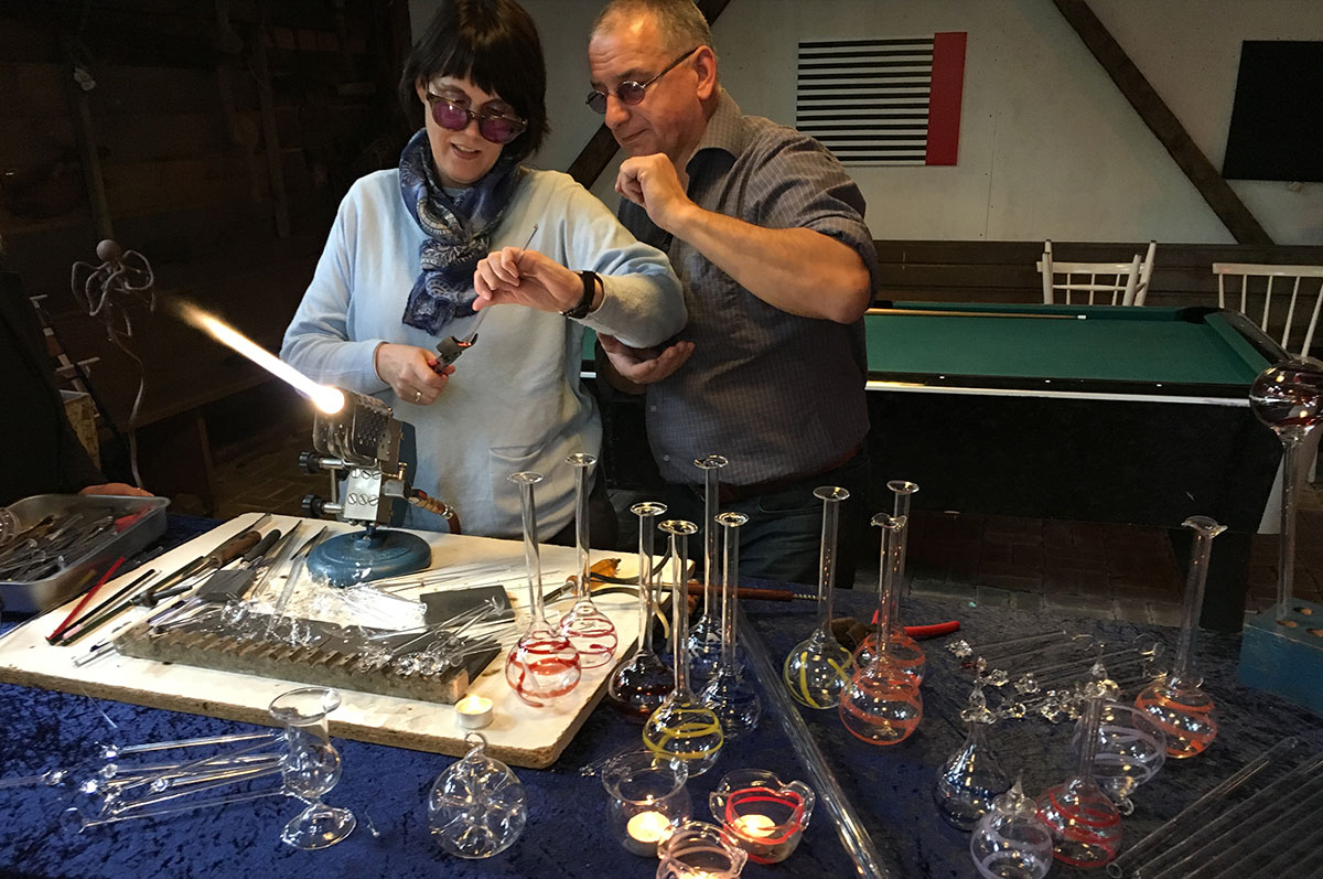 Workshop glasblazen